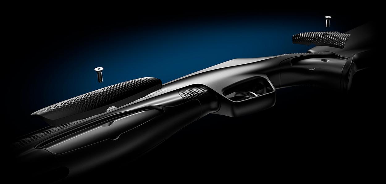 Carabine aria compressa - Multi Grip System