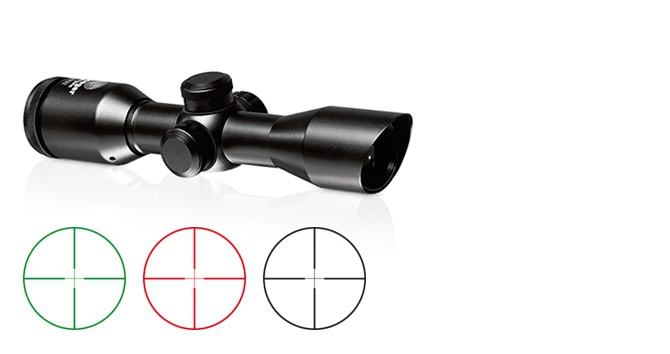 4x32 compact scope with illuminated reticle